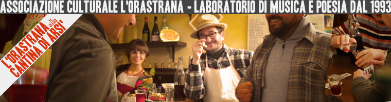il video dell'orastrana alla cantina di arsì'